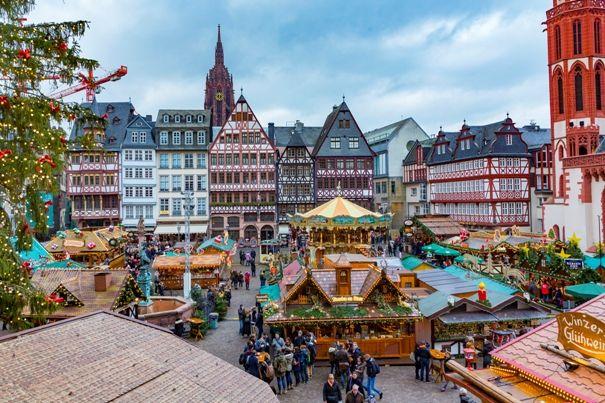 Frankfurt - puente de diciembre - Navidad