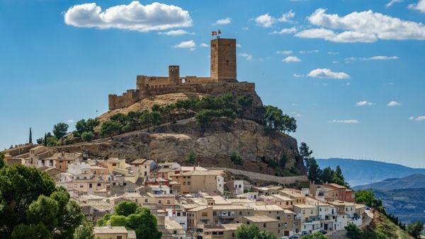 Castillo en Alicante