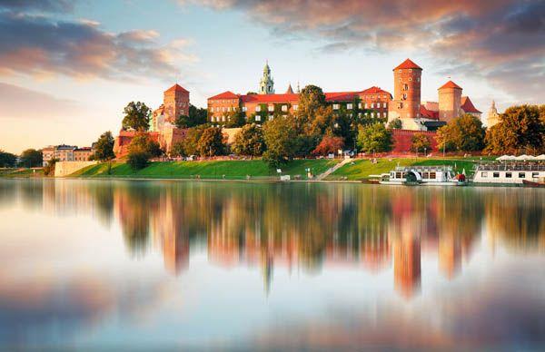 Castillo Wavel en Polonia