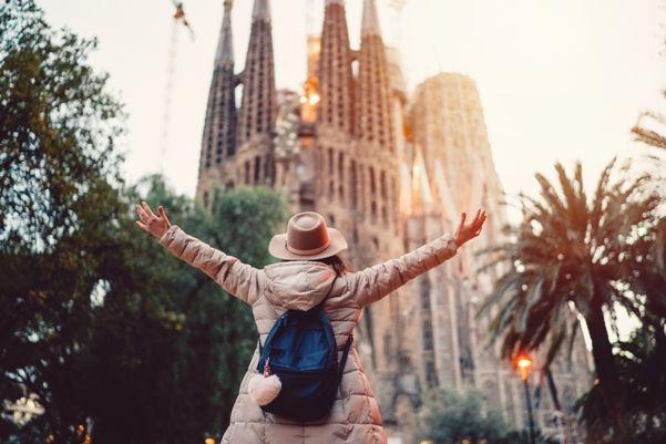 Turista en Barcelona
