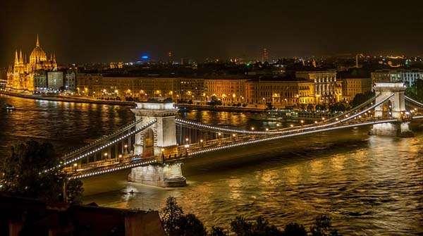 Budapest, Puente de las Cadenas 2