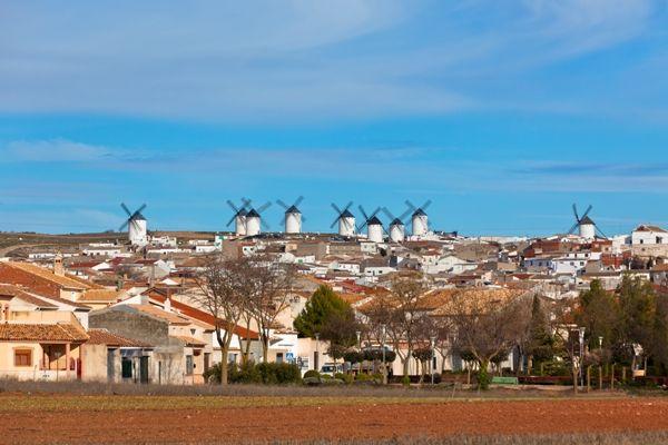 Campo de Criptana en Ciudad Real