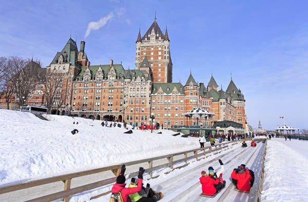 Quebec en invierno