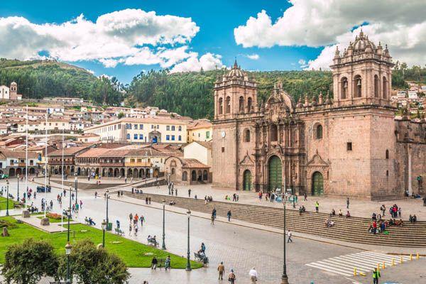 Cuzco, centro de la ciudad