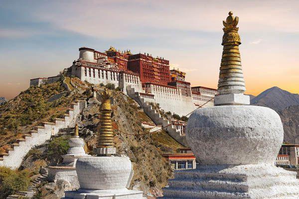 Palacio de Potala en Lhasa
