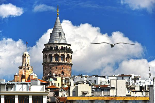 Torre Galata en Estambul
