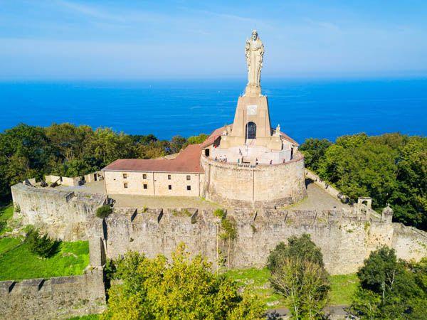 Castillo de la Mota en san Sebastián