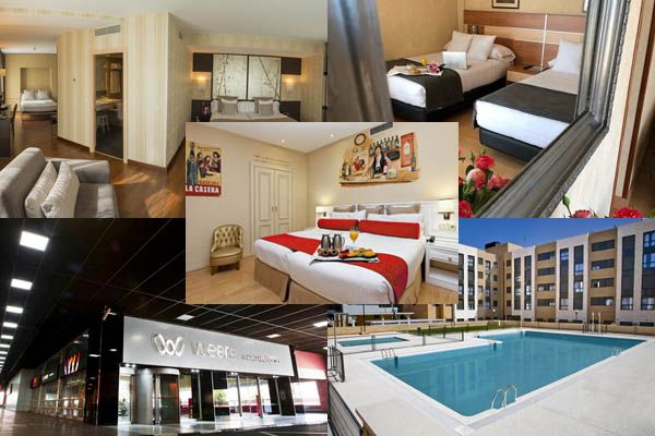 5 hoteles mas vendidos en Madrid