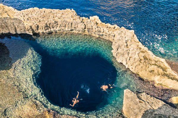 Buceando en Gozo