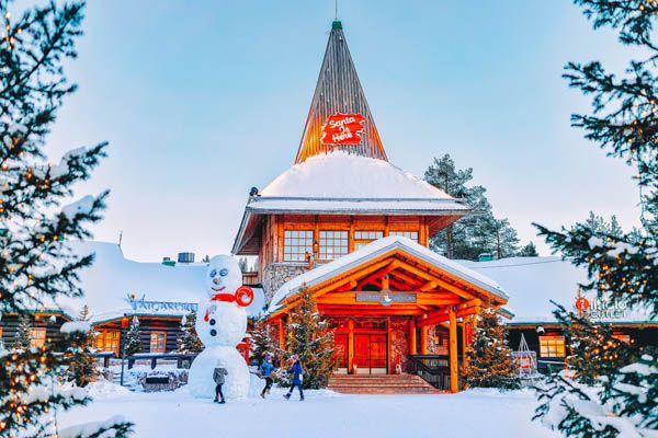 Ciudad de Papa Noel en Laponia