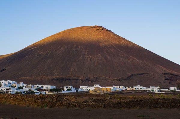 Volcanes en Laanzarote