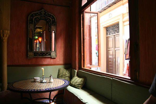 Tetería en Granada